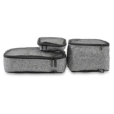 Ju-Ju-Be® 3-Piece Organizer Bag Set in Grey