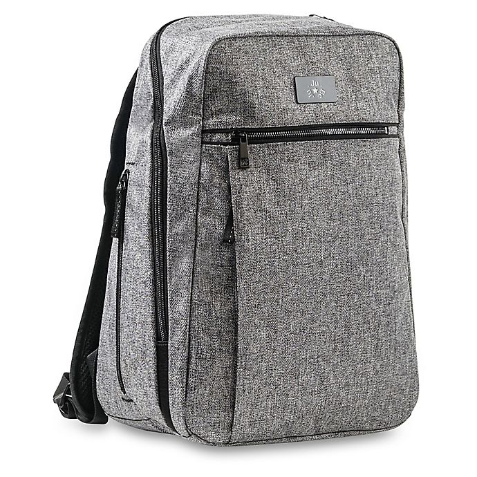 Alternate image 1 for Ju-Ju-Be® Aria Ballad Diaper Backpack in Grey