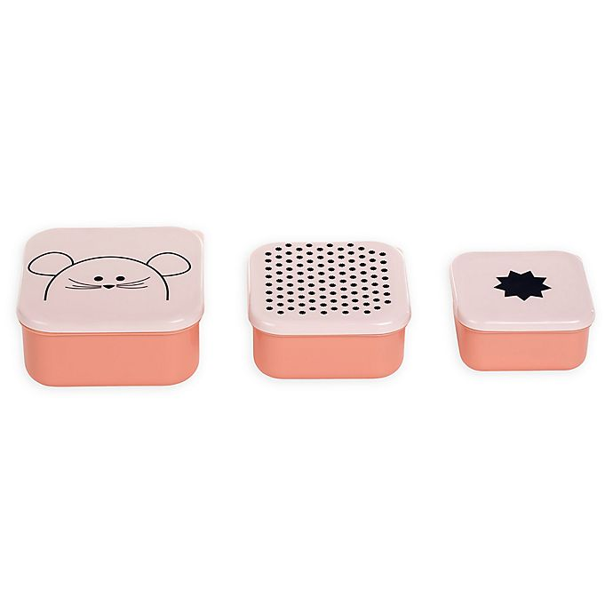 Alternate image 1 for Lassig™ Little Chums Snackboxes (Set of 3)