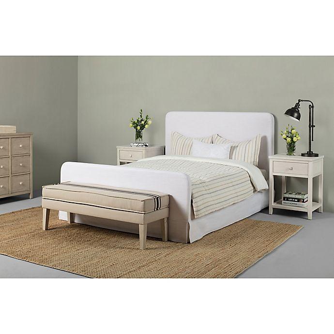 Alternate image 1 for Bee & Willow™ Home Full Slipcovered Bed in White