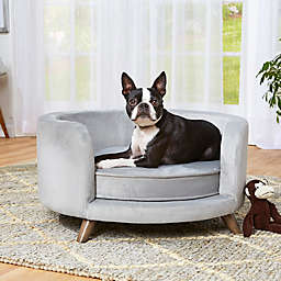 Enchanted Home Pet® Rosie Small Pet Sofa in Grey