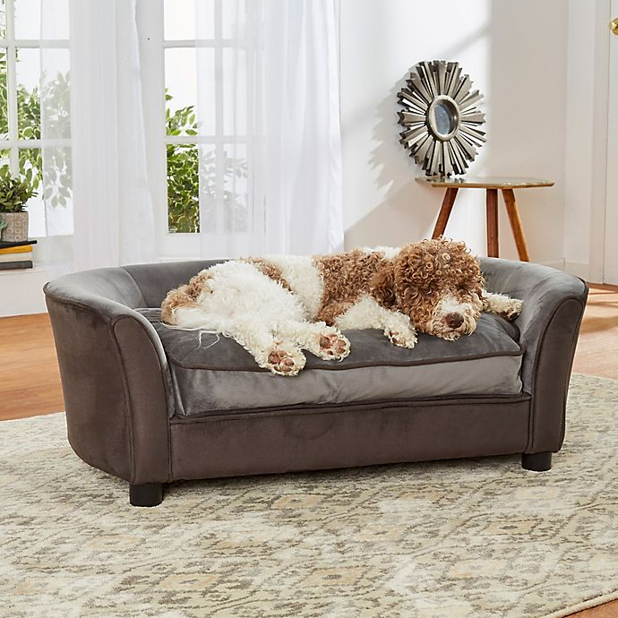 Alternate image 1 for Enchanted Home Pet Panache Sofa in Dark Grey