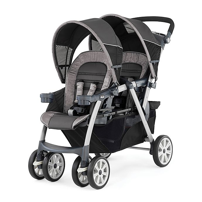 Alternate image 1 for Chicco® Cortina Together Double Stroller in Meridian