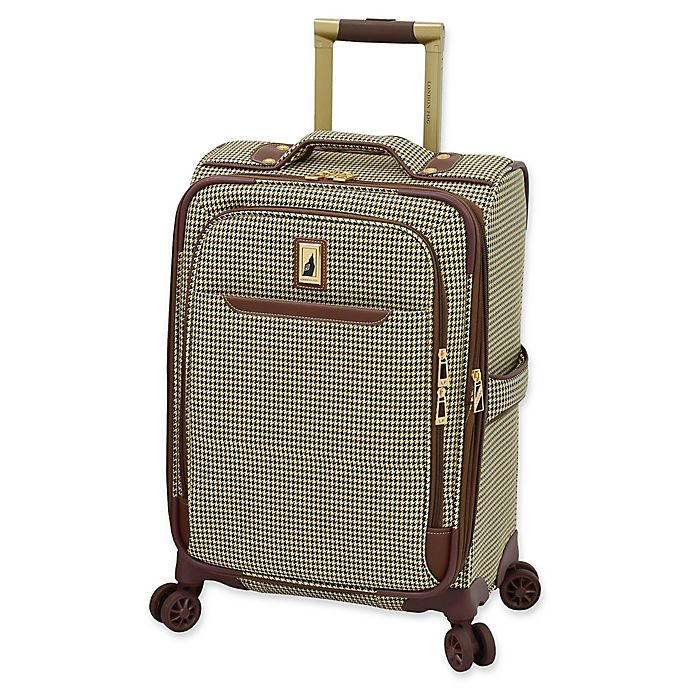 Alternate image 1 for London Fog® Cambridge II 20-Inch Spinner Carry On Luggage in Olive