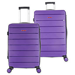 DUKAP® Definity Hardside Spinner Checked Luggage