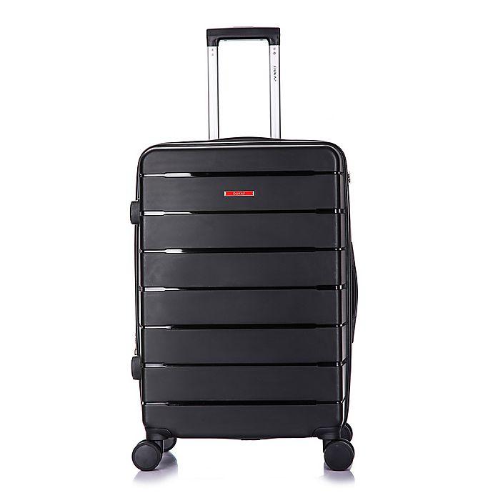 Alternate image 1 for DUKAP® Definity 24-Inch Hardside Spinner Checked Luggage in Black