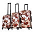 Part of the Mia Toro ITALY Ricci Butterflies Hardside Spinner Luggage Collection