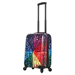 Mia Toro ITALY Color Wheel 20-Inch Hardside Spinner Carry On Luggage