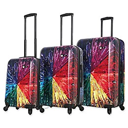 Mia Toro ITALY Color Wheel Hardside Spinner Luggage Collection