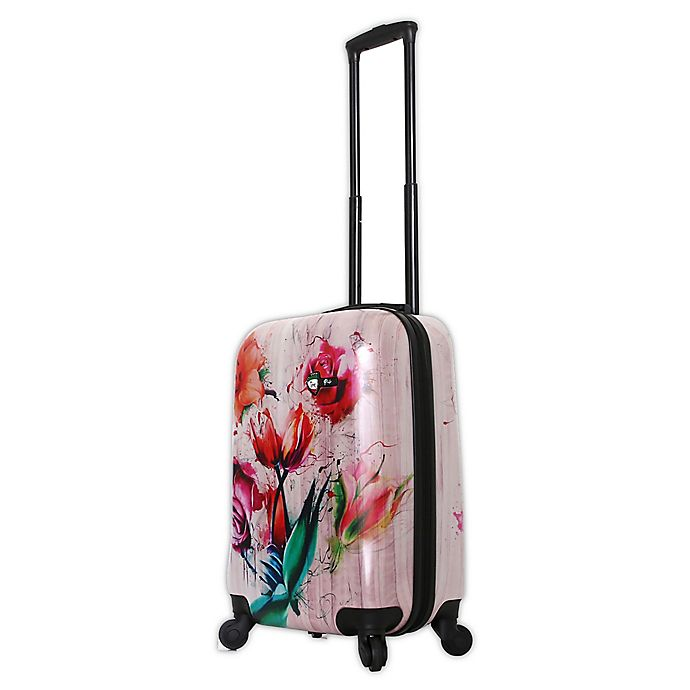 Alternate image 1 for Mia Toro ITALY Paola 20-Inch Hardside Spinner Carry On Luggage