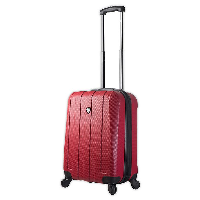 Alternate image 1 for Mia Toro ITALY Tosetti 29-Inch Hardside Spinner Checked Luggage in Red