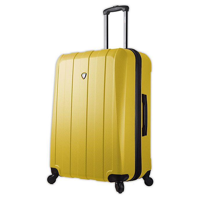 Alternate image 1 for Mia Toro ITALY Tosetti 29-Inch Hardside Spinner Checked Luggage in Gold