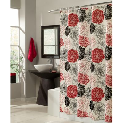 Mstyle Full Bloom 70 Inch X 72 Shower Curtain