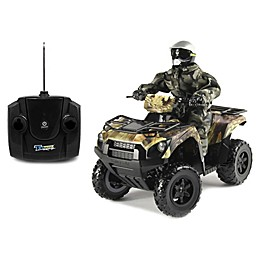 KidzTech 1:6 Scale Remote Controlled Kawasaki Brute Force 750 in Brown