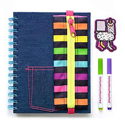 Little Miss Matched® Attach-A-Patch Denim Notebook