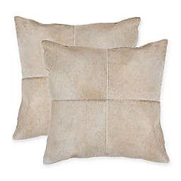 Torino Quattro Square Throw Pillows (Set of 2)