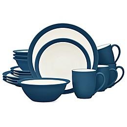 Noritake® Colorwave Curve 16-Piece Dinnerware Set in Blue