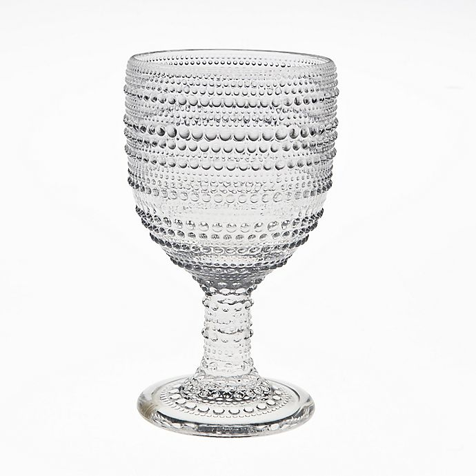 Alternate image 1 for Table Art Pearls Goblets (Set of 4)