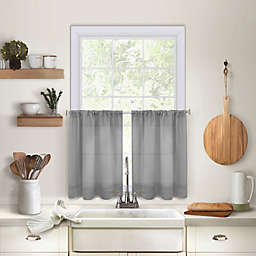 Maison Kitchen Window Curtain Tier Pair