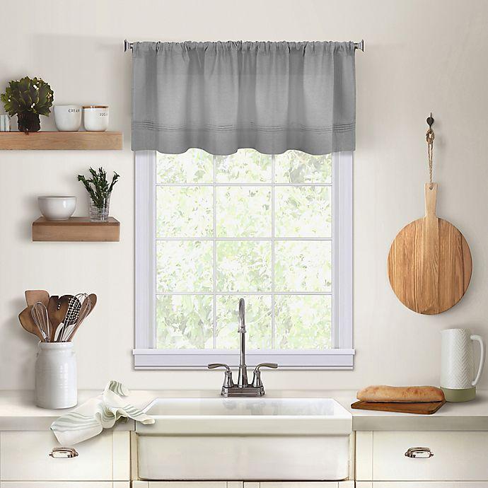 Maison Kitchen Window Valance Bed