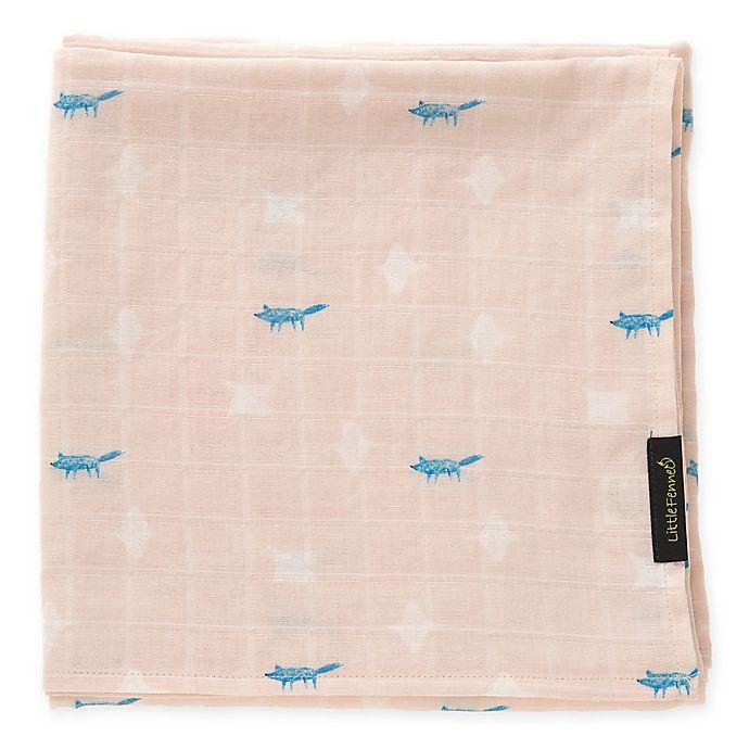 Alternate image 1 for Flying Muslin Cuddle Blanket in Light Pink