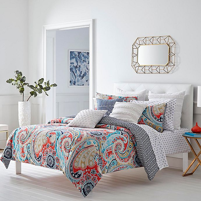 Alternate image 1 for Trina Turk Mirage Paisley Comforter Set