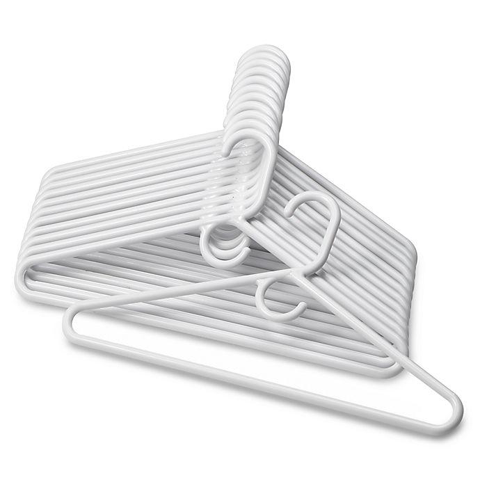 Alternate image 1 for SALT™ Heavyweight Hangers in White (Set of 12)