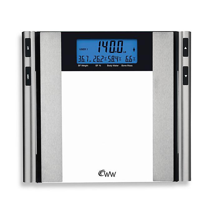 Weight Watchers 174 By Conair Glass Amp Satin Nickel Body