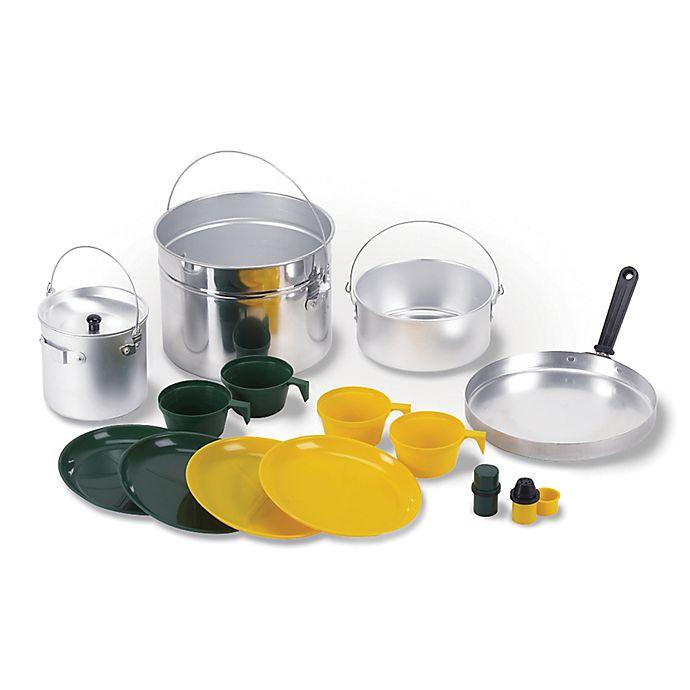 Alternate image 1 for Stansport® Aluminum 16-Piece Outdoor Cookware Set