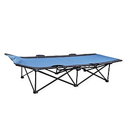Stansport® 1-Step Deluxe Cot in Blue