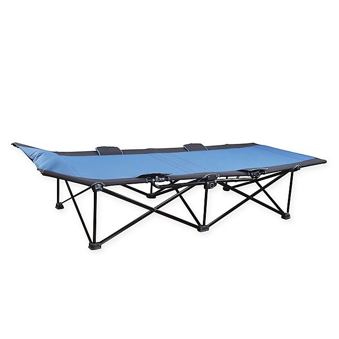 Alternate image 1 for Stansport® 1-Step Deluxe Cot in Blue