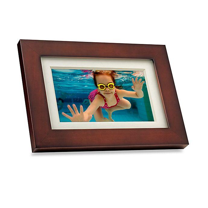 Giiniii 7 Inch Digital Photo Frame 800 X 480 Resolution Bed