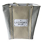 Baum-Essex The Laundry Room Hamper in Grey/Tan