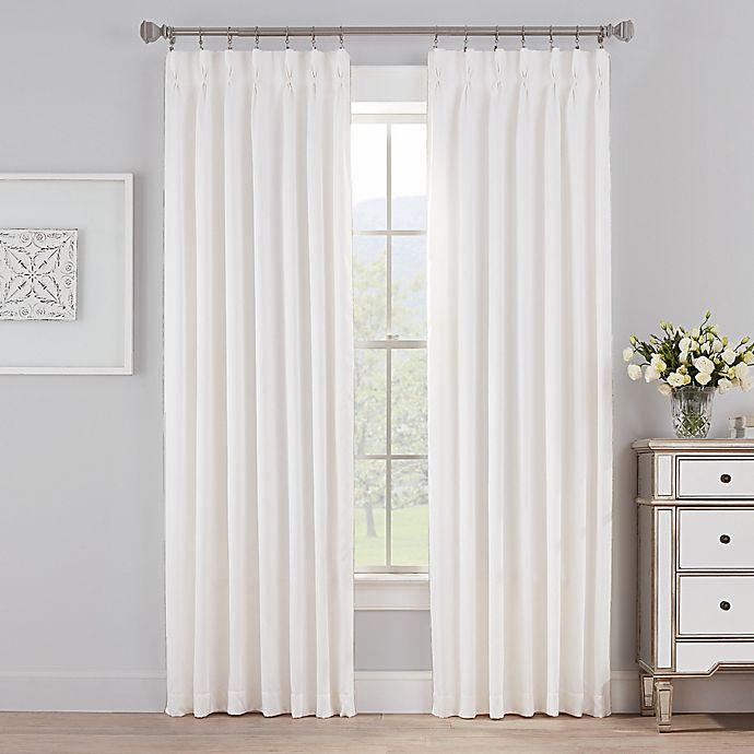 Alternate image 1 for Marin Pinch Pleat Room Darkening Window Curtain Panel (Single)
