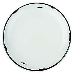 canvas home™ Tinware Salad Plates in Light Grey