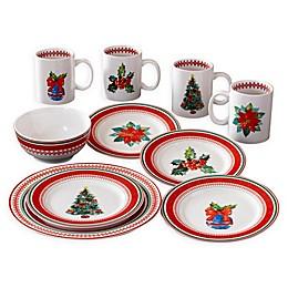American Atelier Noelle 16-Piece Dinnerware Set