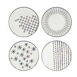 American Atelier Festive Salad Plates (Set of 4)