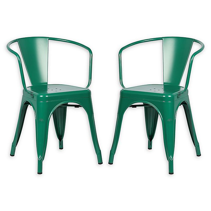 Incredible Poly And Bark Trattoria Arm Chairs Set Of 2 Bed Bath Uwap Interior Chair Design Uwaporg