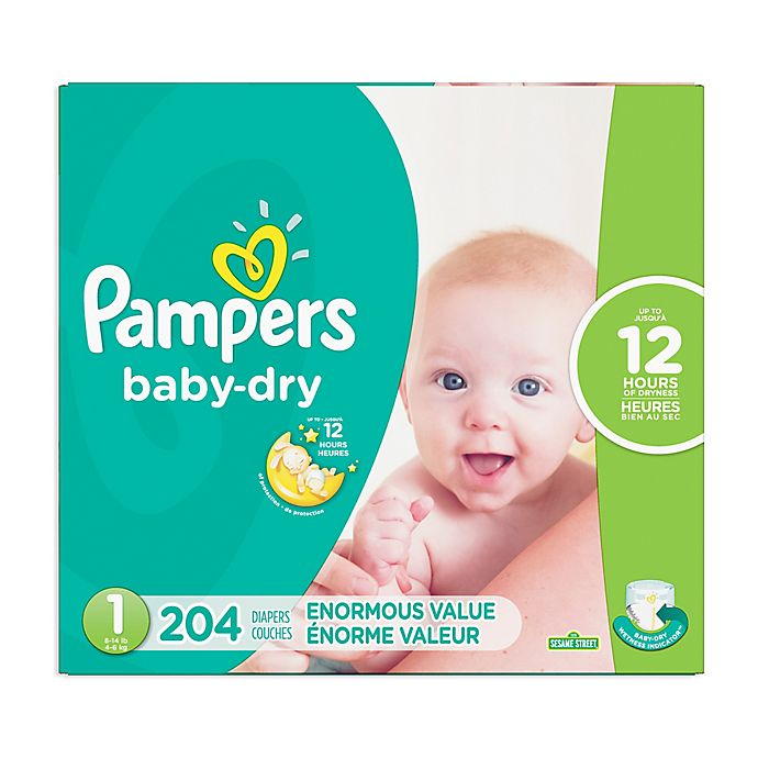 Alternate image 1 for Pampers® Baby Dry™ Disposable Diapers Collection
