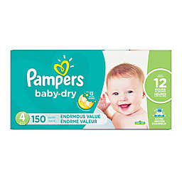 Pampers® Baby Dry™ 150-Count Size 4 Pack Disposable Diapers