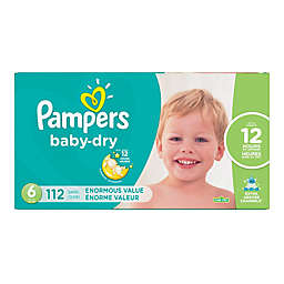 Pampers® Baby Dry™ 112-Count Size 6 Pack Disposable Diapers