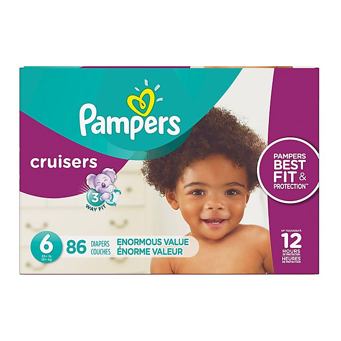 Alternate image 1 for Pampers® Cruisers™ Size 6 86-Count Disposable Diapers
