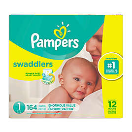 Pampers® Swaddlers™ 164-Count Size 1 Pack Diapers 4f034fe1d