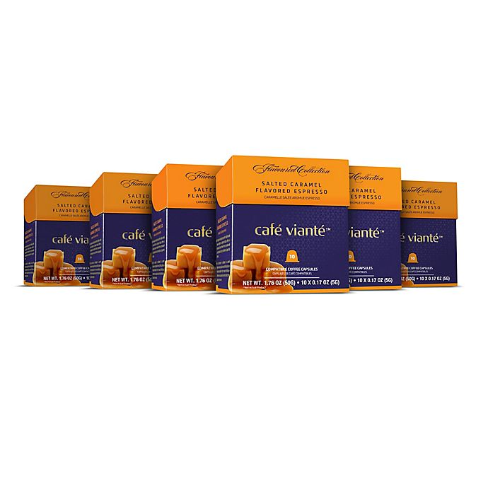 Alternate image 1 for Café Viante® 60-Count Salted Caramel Espresso for Single Serve Coffee Makers