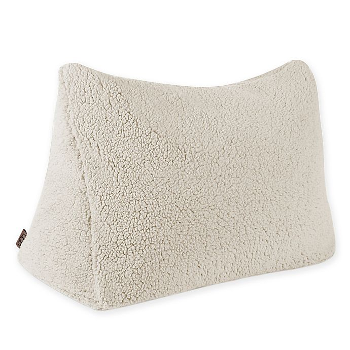 Ugg 174 Classic Sherpa Reading Wedge Pillow Bed Bath Amp Beyond
