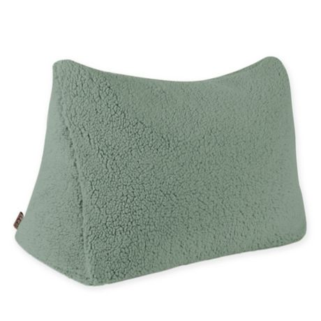 Buy Ugg 174 Classic Sherpa Reading Wedge Pillow In Sea Green