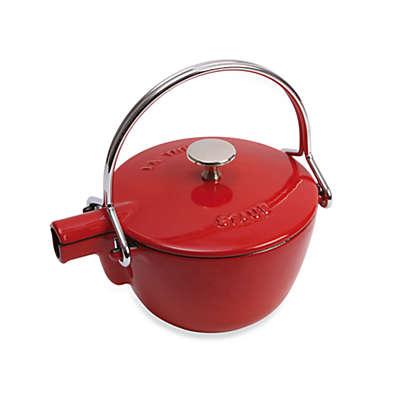 Staub Round Cast Iron 1-Quart Teapots/Kettles