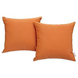 Modway Convene Square Outdoor Patio Pillows (Set of 2)