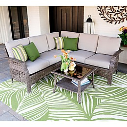 Leisure Made Concord 4-Piece Outdoor Sectional Set