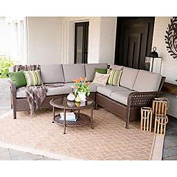 Leisure Made Bessemer 5-Piece Outdoor Sectional Set